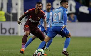 Directo | El Málaga pierde ante el Barcelona