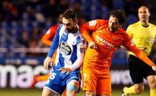 El Málaga pierde en Riazor