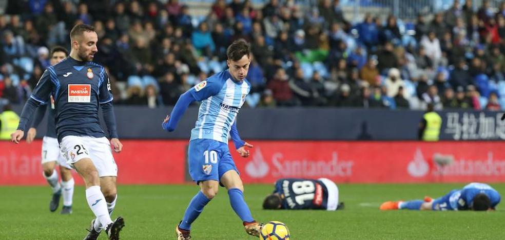 La salida de Juanpi, la llave de la planificación del Málaga
