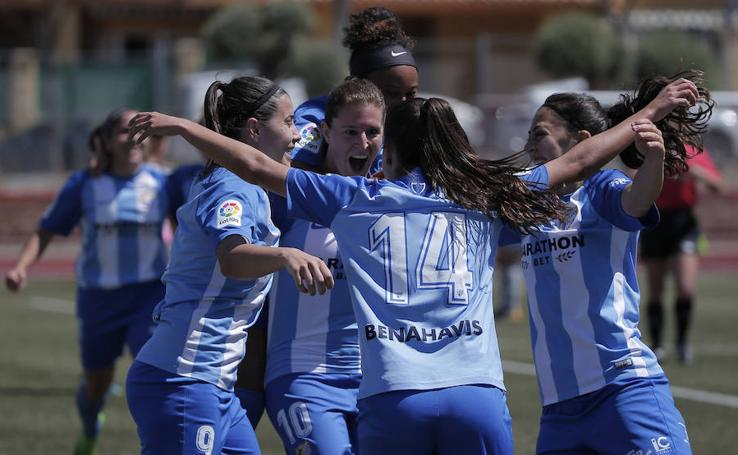 El Málaga femenino se proclama campeón de Liga