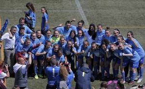 El Málaga femenino, campeón de Liga