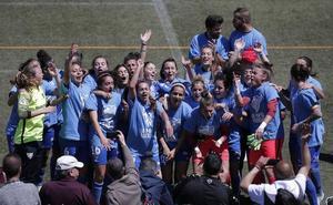 El Málaga femenino, rumbo a Primera