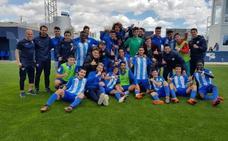 Los juveniles del Málaga, ante el Valencia en la Copa del Rey