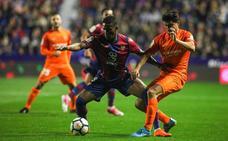 El Levante manda al Málaga a Segunda en el último minuto (1-0)