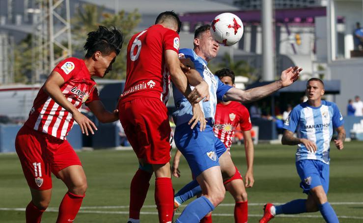 Victoria del Atlético Malagueño ante el Almería B (3-1)