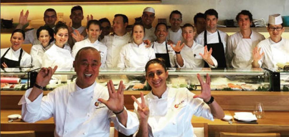 Nobu cocina en Marbella