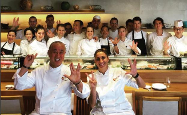 Nobu cocina en marbella malaga en la mesa diario sur for Equipo para chef