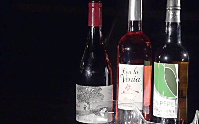 Tres vinos malagueños para probar este verano