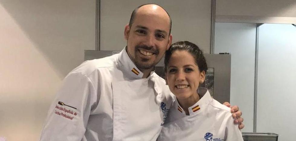 Los malagueños Daniel García Peinado y Raquel García, entre los mejores cocineros europeos