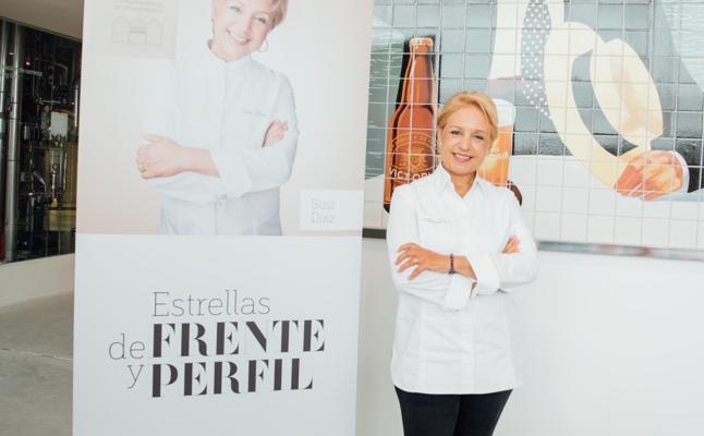Susi Díaz: «Para que emocione, un plato debe estimular los cinco sentidos»