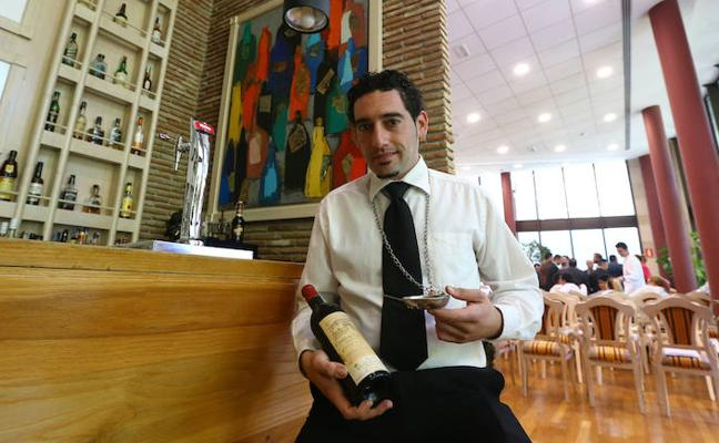 Christian Postigo, mejor sumiller de Málaga