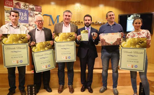 El Mercado Moscatel de Almáchar contará con 15 expositores de pasas, vinos y productos malagueños