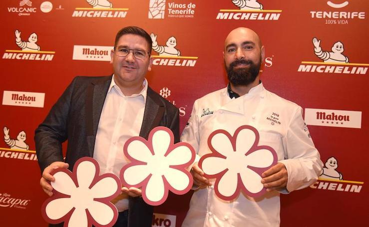 La gala de las estrellas Michelin 2018, en fotos