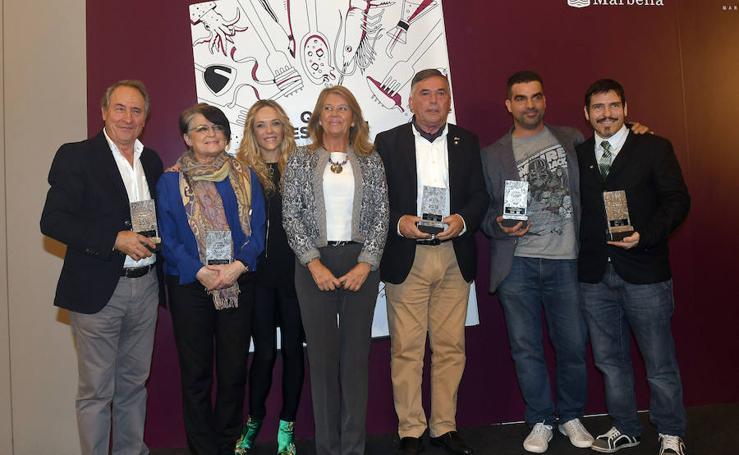 Así ha sido la entrega de los reconocimientos 'Quién es quién en la gastronomía de Málaga'