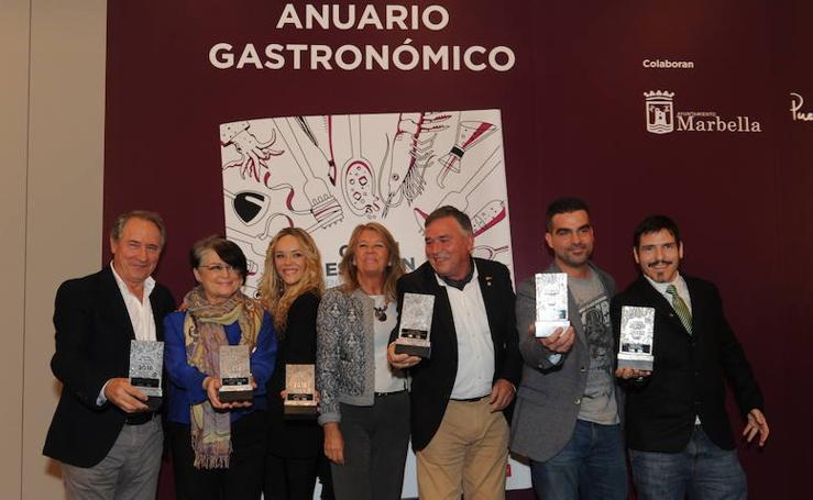 Las mejores fotos de la presentación de 'Quién es quién en la gastronomía de Málaga'