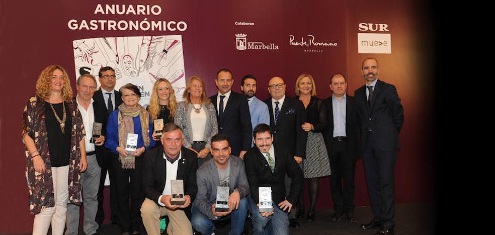 La guía para comer en las mejores mesas, 'Quién es quién en la gastronomía de Málaga 2018'