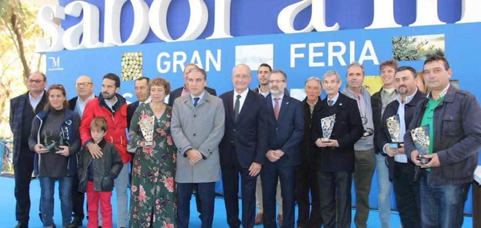 Sabor a Málaga premia a los mejores vinos y quesos de la provincia
