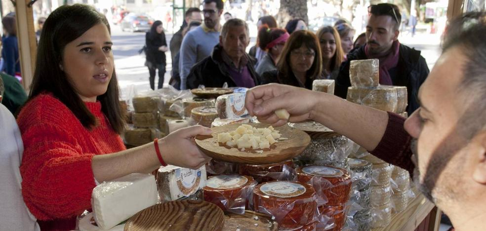 Productos de la provincia inundan el Parque de 'Sabor a Málaga'
