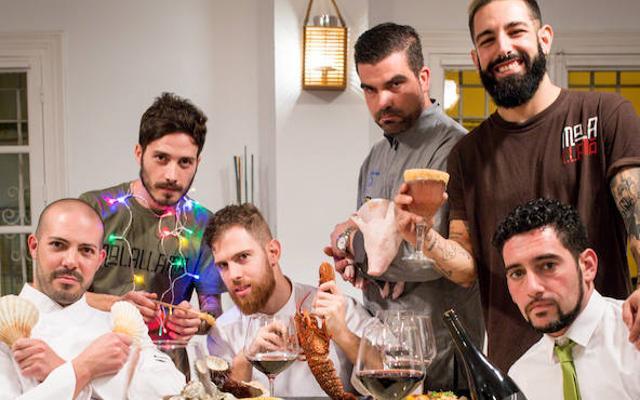 Cena de Navidad: talento en la mesa