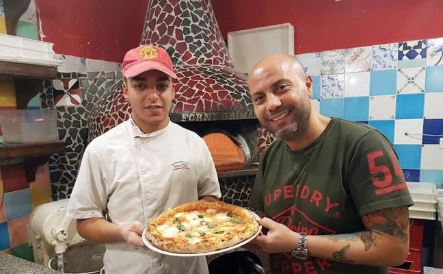 Terra Mía, la pizza napolitana patrimonio de la humanidad en Málaga
