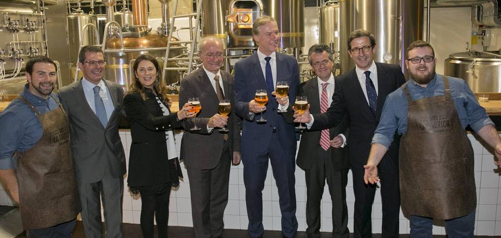 Cruzcampo inaugura La Fábrica en el Soho de Málaga