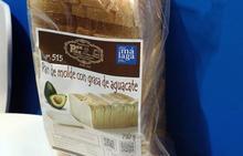 Pan de molde de aguacate