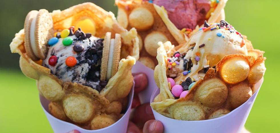 Bubble Waffle, la última y dulce locura 'foodie' que podrás probar en Málaga