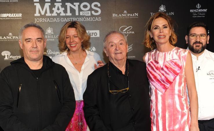 Homenaje a Arzak en el 'A Cuatro Manos' de Dani García