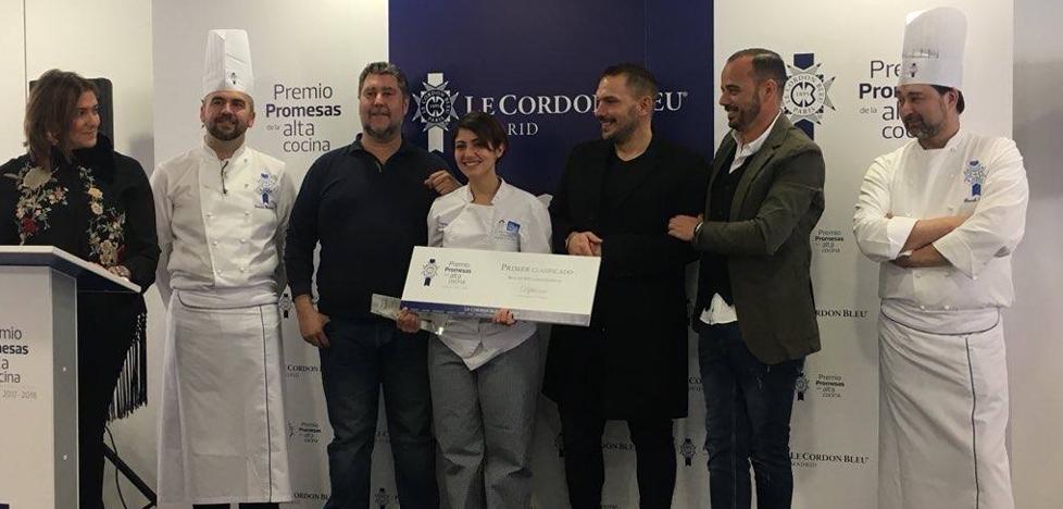 Una alumna de la Escuela de Hostelería de Benahavís gana el premio de Le Cordon Bleu