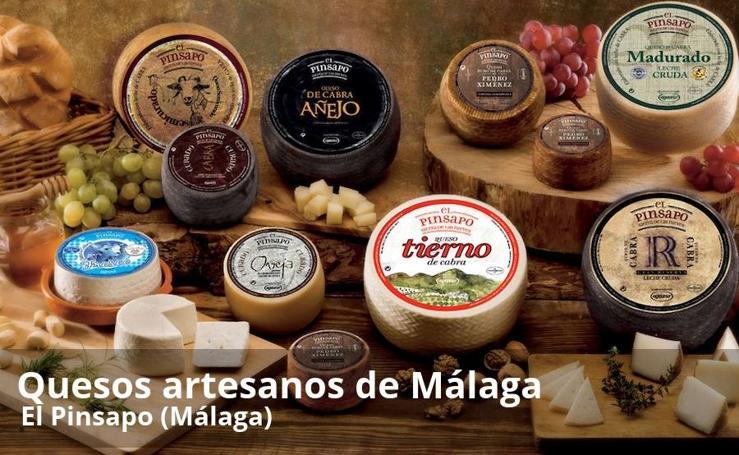 Quesos artesanos que puedes comprar en Málaga