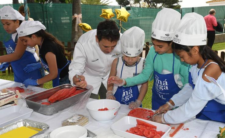 El Chefs and Kids en Los Monteros, en imágenes