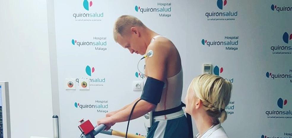 Salin pasa reconocimiento médico con el Unicaja