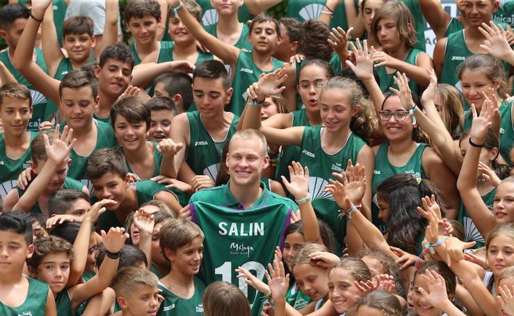 Salin, tercer fichaje del Unicaja, se incorporará al equipo