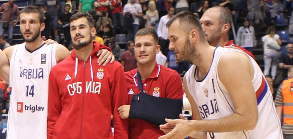 El médico de la selección serbia, optimista sobre Nedovic