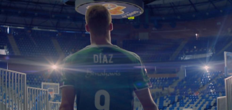 Alberto Díaz, protagonista de un vídeo promocional de la ACB