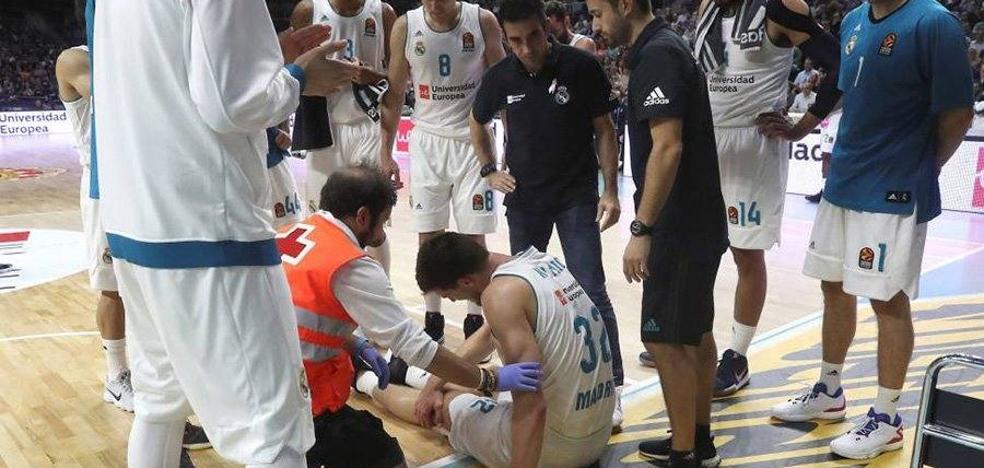 Terrible lesión del exjugador del Unicaja Ognjen Kuzmic
