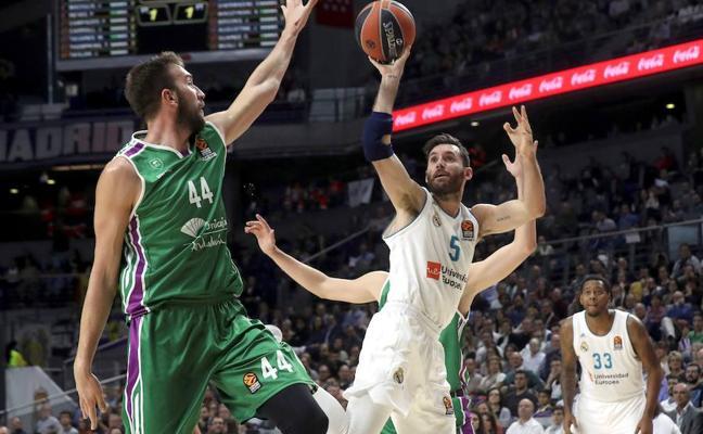 El Unicaja pierde de 32 puntos ante el Real Madrid