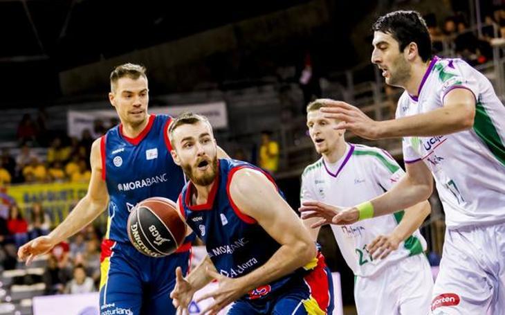 El partido entre el Andorra y el Unicaja, en fotos