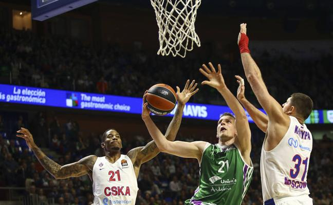El Unicaja muestra ante el CSKA otra manera de perder (80-89)
