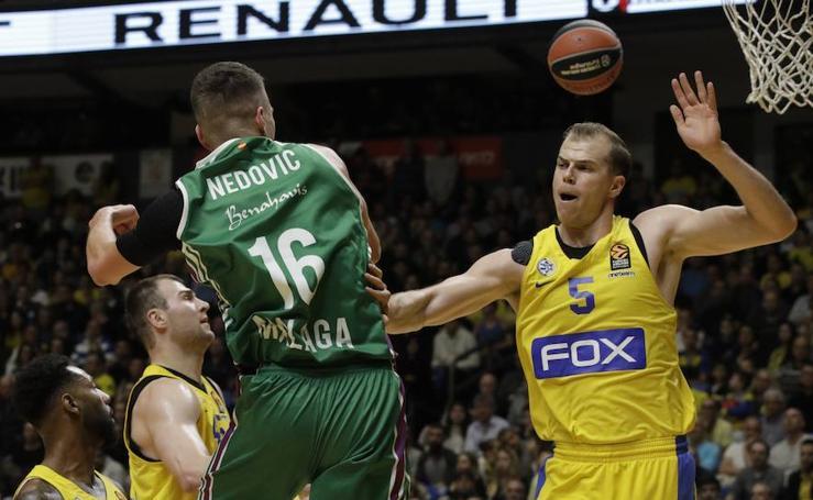 Triunfo del Unicaja en la pista del Maccabi en la Euroliga