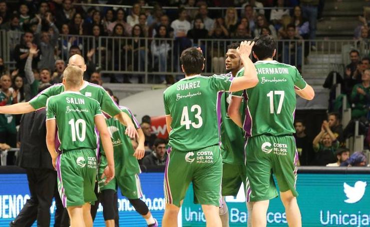 Las mejores imágenes del Unicaja-Valencia Basket