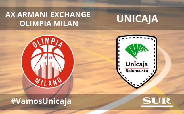 Directo | El Unicaja se trae una derrota de Milán