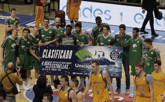 El Unicaja gana al Gran Canaria y confirma la clasificación para la Copa del Rey
