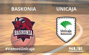 El Unicaja pierde con el Baskonia (96-78)