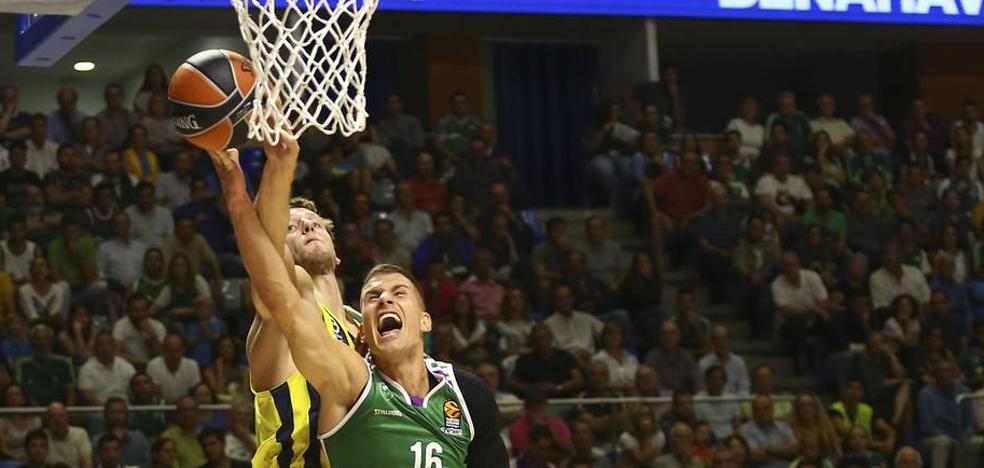 El Unicaja es uno de los cuatro equipos que no se han reforzado en la Euroliga