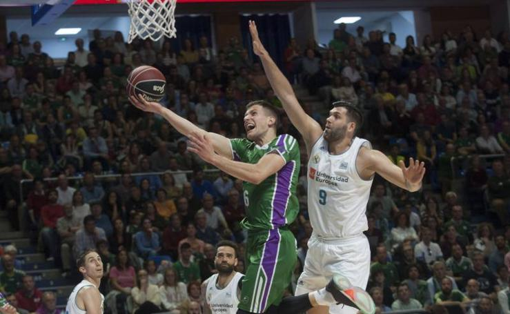 Fotos del Unicaja-Real Madrid