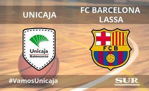 El Unicaja gana al Barcelona