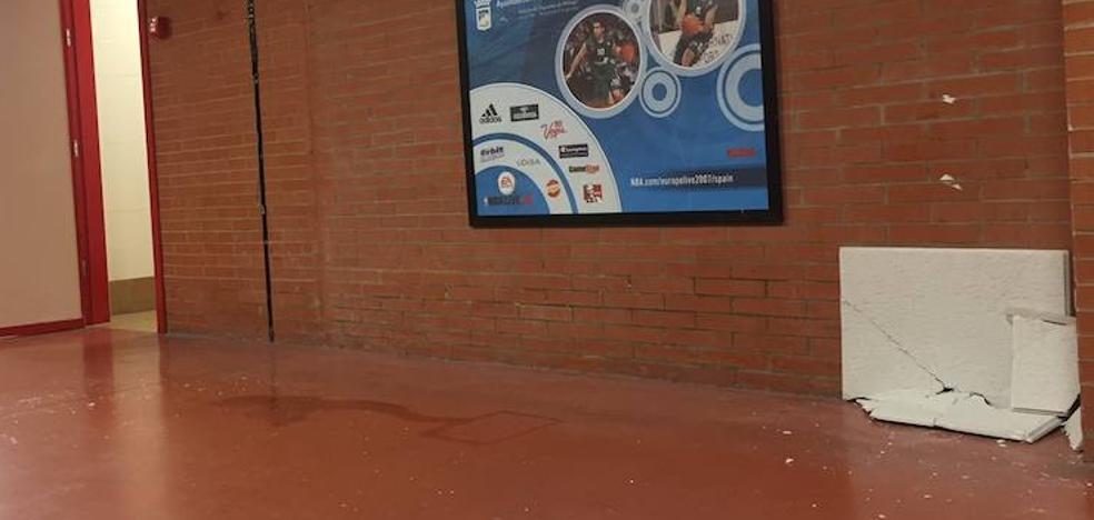 Incidentes en el túnel de vestuarios tras el partido Unicaja-Andorra