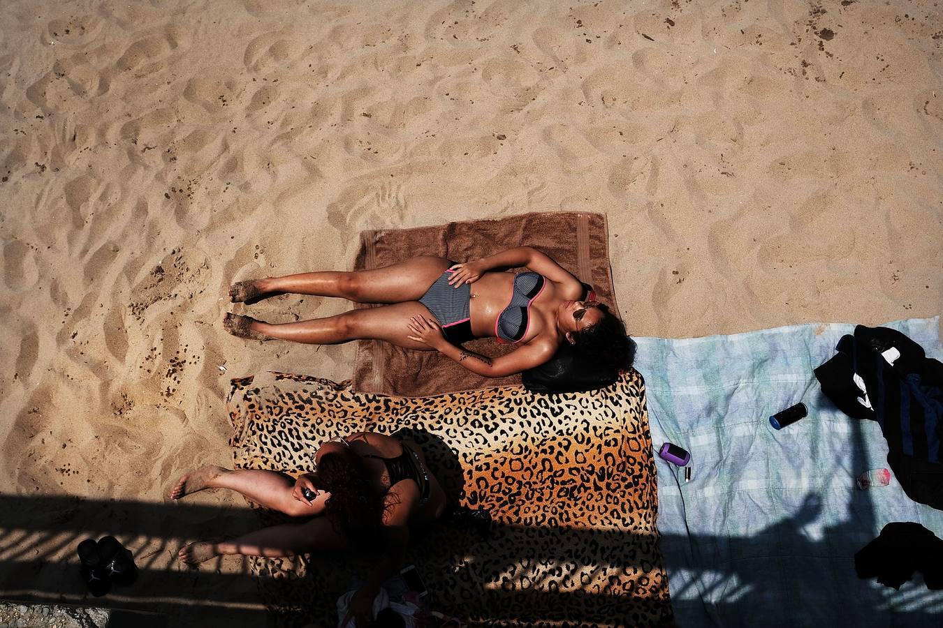 Así es la playa de Nueva York (Coney Island)