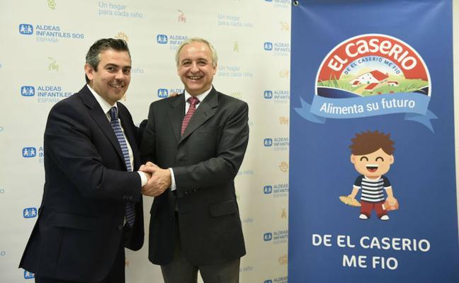 El Caserío dona a Aldeas Infantiles SOS de Málaga 1.500 meriendas